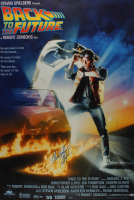 """Christopher Lloyd Signed """"Back to the Future"""" 29x40 Movie Poster (Beckett Hologram) at PristineAuction.com"""