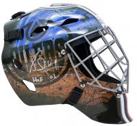 """Grant Fuhr Signed Oilers Full-Size Goalie Mask Inscribed """"HOF 03"""" (JSA COA) at PristineAuction.com"""