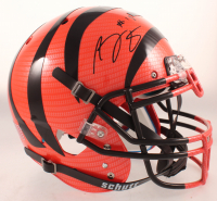 A.J. Green Signed Bengals Full-Size Authentic On-Field Hydro-Dipped Helmet (JSA COA) at PristineAuction.com