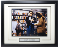 "Jerry Seinfeld Signed ""Seinfeld"" 16x20 Custom Framed Photo Display (PSA COA) at PristineAuction.com"