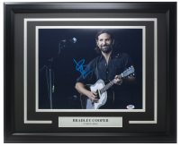 "Bradley Cooper Signed ""A Star is Born"" 16x20 Custom Framed Photo Display (PSA COA) at PristineAuction.com"