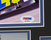 Jimmie Johnson Signed NASCAR 11x14 Custom Framed Photo Display (PSA COA) at PristineAuction.com