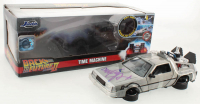 "Michael J. Fox Signed ""Back to the Future II"" DeLorean Time Machine 1:24 Scale Die-Cast Car (Beckett Hologram) at PristineAuction.com"