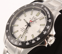 Ulysse Girard Men's Stainless Steel Tachymeter Sport Watch at PristineAuction.com