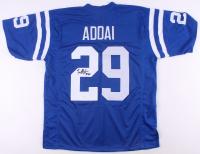 Joseph Addai Signed Jersey (JSA COA) at PristineAuction.com