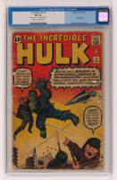 "1962 ""The Incredible Hulk"" Issue #3 Marvel Comic Book (CGC 1) at PristineAuction.com"