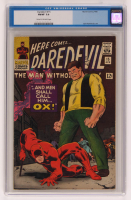 "1966 ""Daredevil"" Issue #15 Marvel Comic Book (CGC 7) at PristineAuction.com"