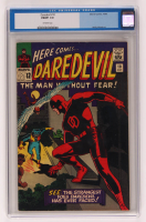 "1965 ""Daredevil"" Issue #10 Marvel Comic Book (CGC 7) at PristineAuction.com"