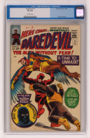 "1965 ""Daredevil"" Issue #11 Marvel Comic Book (CGC 8) at PristineAuction.com"
