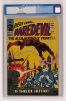 "1966 ""Daredevil"" Issue #14 Marvel Comic Book (CGC 7.5) at PristineAuction.com"