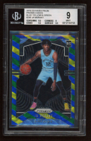 Ja Morant 2019-20 Panini Prizm Prizms Choice Blue Yellow and Green #249 (BGS 9) at PristineAuction.com