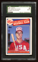 Mark McGwire Signed 1985 Topps #401 OLY RC (SGC Encapsulated) at PristineAuction.com