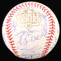 Tigers Official 2012 World Series Baseball Team-Signed by (35) with Prince Fielder, Miguel Cabrera, Justin Verlander, Max Scherzer (JSA ALOA) at PristineAuction.com