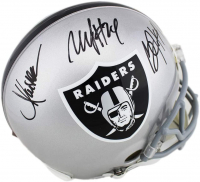 Marcus Allen, Bo Jackson & Marshawn Lynch Signed Raiders Full-Size Authentic On-Field Helmet (Radtke COA) at PristineAuction.com