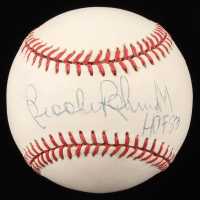 "Brooks Robinson Signed OAL Baseball Inscribed ""HOF 83"" (JSA COA) at PristineAuction.com"