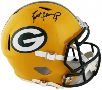 Brett Favre Signed Packers Full-Size Speed Helmet (Radtke COA) at PristineAuction.com