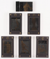 Lot of (6) Michael Jordan LE Upper Deck Metal Gold Basketball Cards at PristineAuction.com