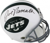 Joe Namath Signed Jets Full-Size Helmet (Radtke COA) at PristineAuction.com