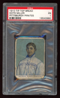 Dots Miller 1910 Pirates Tip-Top D322 #7 (PSA 1) at PristineAuction.com
