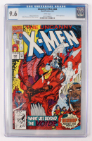 "Lot of (2) CGC Graded 9.6 ""Uncanny X-Men"" Marvel Comic Books with 1992 #284 & 2001 #393 at PristineAuction.com"