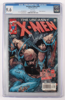 """Lot of (2) CGC Graded 9.6 """"Uncanny X-Men"""" Marvel Comic Books with 1992 #284 & 2001 #393 at PristineAuction.com"""