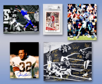 Schwartz Sports Football TOUCHDOWN Mystery Box - Series 6 (Limited to 100) (6+ Autograph Items per Box) at PristineAuction.com