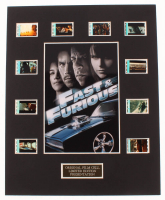 """Fast & Furious"" LE 8x10 Custom Matted Original Film Cell Display at PristineAuction.com"