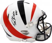 Tee Higgins Signed Bengals Full-Size Authentic On-Field AMP Alternate Speed Helmet (Radtke COA) at PristineAuction.com