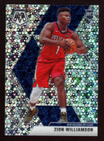 Zion Williamson 2019-20 Panini Mosaic Fast Break Silver #209 RC at PristineAuction.com