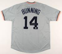 "Jim Bunning Signed Jersey Inscribed ""HOF 96"" (JSA COA) at PristineAuction.com"
