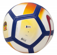 "Ronaldinho Signed FC Barcelona Logo Soccer Ball Inscribed ""R10"" (Beckett COA) at PristineAuction.com"
