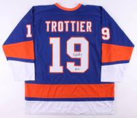 "Bryan Trottier Signed Jersey Inscribed ""HOF '97"" (JSA COA) at PristineAuction.com"