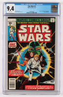 "1977 ""Star Wars"" Issue #1 Marvel Comic Book (CGC 9.4) at PristineAuction.com"