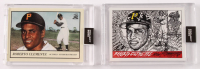 Lot of (2) 2020 Topps Project 2020 Baseball Cards with Roberto Clemente #78 Oldmanalan & #68 JKS (Project 2020 Encapsulated) at PristineAuction.com