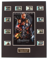"""""""Avengers"""" LE 8x10 Custom Matted Original Film / Movie Cell Display at PristineAuction.com"""
