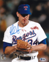 Nolan Ryan Signed Rangers 8x10 Photo (Beckett COA) at PristineAuction.com