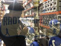"Edgerrin James Signed Colts Full-Size Authentic On-Field SpeedFlex Helmet Inscribed ""Gold Grillz + $ Bills"" (Radtke COA) at PristineAuction.com"