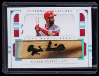 Ozzie Smith 2019 Panini National Treasures Bat Nameplates #4 at PristineAuction.com