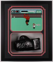 Mike Tyson Signed 22x26x5 Custom Framed Shadowbox Display (Fiterman Sports Hologram) at PristineAuction.com