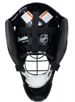 """Grant Fuhr Signed Oilers Full-Size Goalie Mask Inscribed """"HOF 03"""" With Display Case (JSA COA) at PristineAuction.com"""