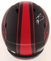 Stefon Diggs Signed Bills Full-Size Authentic On-Field Eclipse Alternate Speed Helmet (Beckett COA) at PristineAuction.com