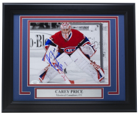 Carey Price Signed Canadiens 11x14 Custom Framed Photo Display (JSA COA) at PristineAuction.com