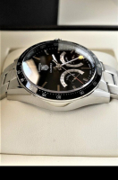 Tag Heuer Carrera Calibre S Chronograph Tachymeter Men's Wristwatch with Box & Papers at PristineAuction.com