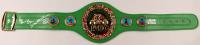 Roberto Duran, Thomas Hearns & Sugar Ray Leonard Signed World Champion WBC Belt (Beckett COA) at PristineAuction.com