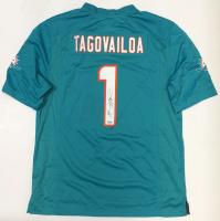 Tua Tagovailoa Signed Dolphins Jersey (Fanatics Hologram) at PristineAuction.com