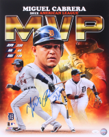 Miguel Cabrera Signed Tigers 16x20 Photo (JSA COA) at PristineAuction.com