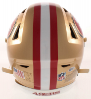 Jerry Rice Signed 49ers Full-Size Authentic On-Field SpeedFlex Helmet (Beckett COA) at PristineAuction.com