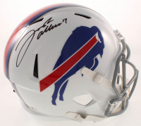 Josh Allen Signed Bills Full-Size Speed Helmet (Beckett COA) at PristineAuction.com