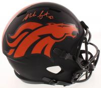Noah Fant Signed Broncos Full-Size Eclipse Alternate Speed Helmet (JSA COA) at PristineAuction.com