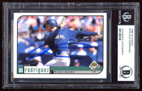 Alex Rodriguez Signed 1999 UD Choice #143 (BGS Encapsulated) at PristineAuction.com